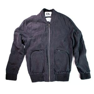 CH Chapter Tencel Bomber Jacket M